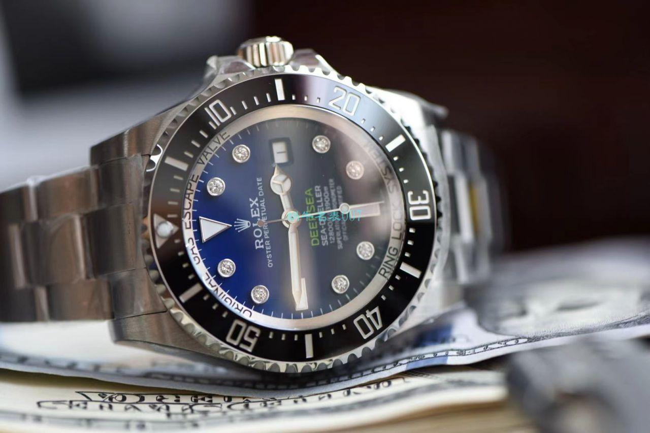 【真钻定制】N厂劳力士渐变蓝鬼王手表改装真钻刻度m126660-0002 / R658N
