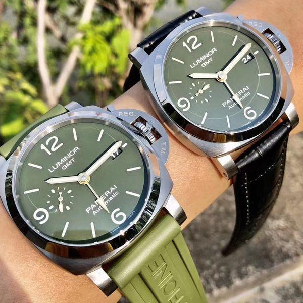 VS厂沛纳海PAM01056,PAM1056绿盘GMT高仿手表价格报价