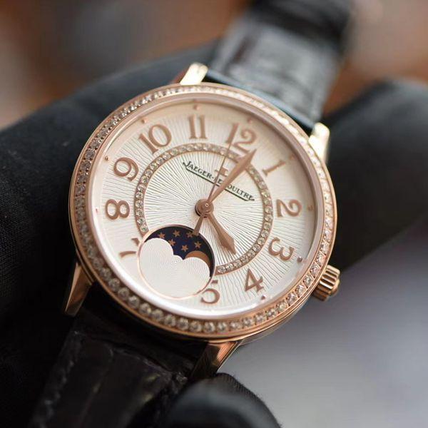 【视频评测】JL1比1精仿积家约会女士手表Q3572430,3578430腕表价格报价