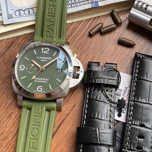 VS厂沛纳海军绿色PAM01056超A高仿手表价格报价
