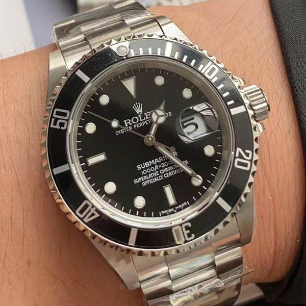 AR厂劳力士ROLEX复古黑水鬼16610顶级复刻手表