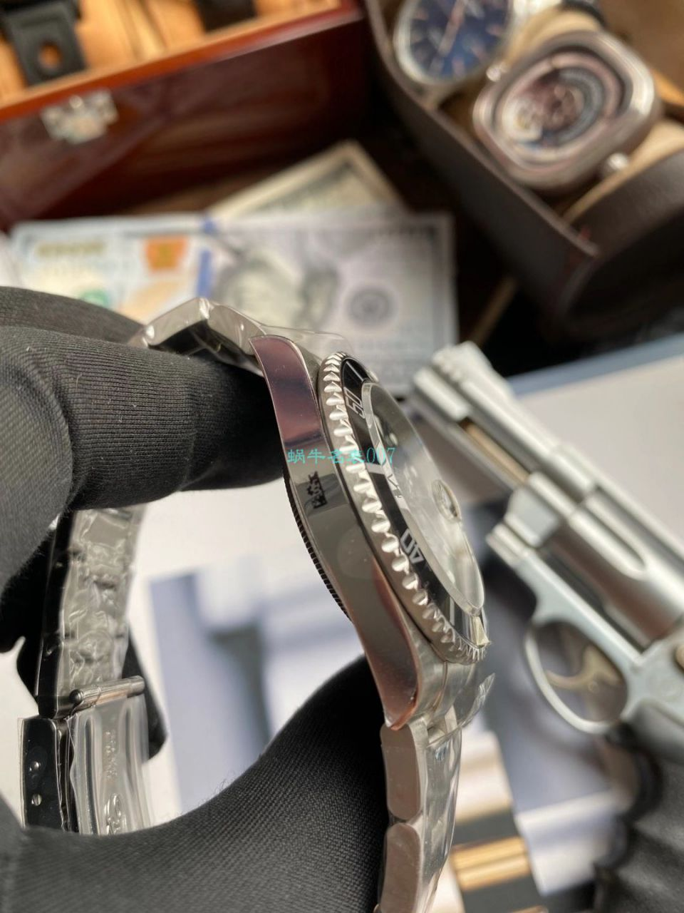AR厂劳力士ROLEX复古黑水鬼16610顶级复刻手表 / R666