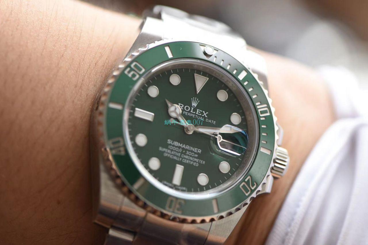HBB-V6厂劳力士绿水鬼1比1高仿手表116610LV-97200 / R660