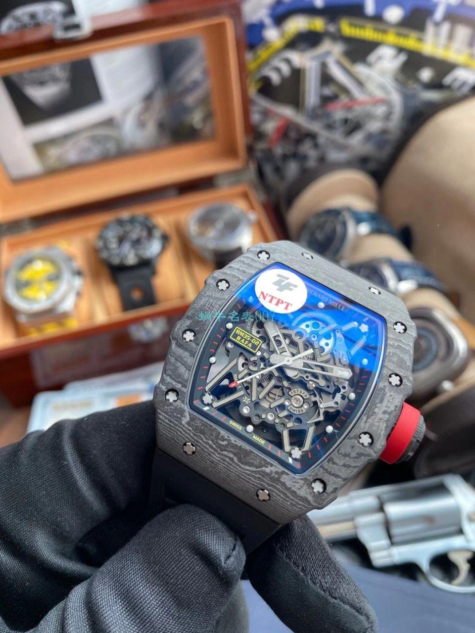 【视频评测】ZF厂1比1高仿理查德米勒手表Richard Mille V3版本RM035-02 / ZFRM035-02V3