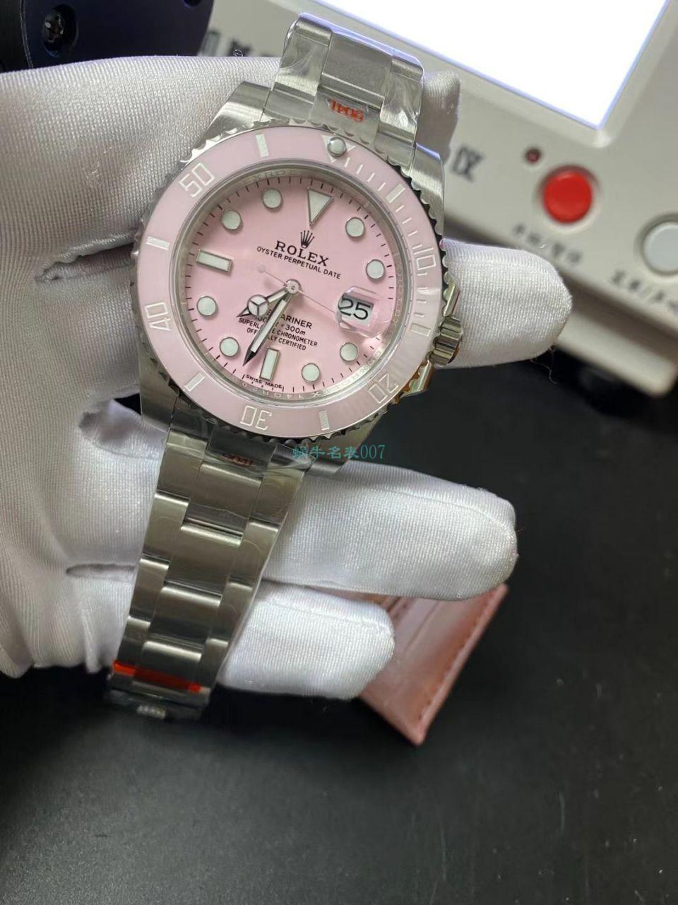 GM厂更新V2版本劳力士粉水鬼1比1精仿女士手表 / R719