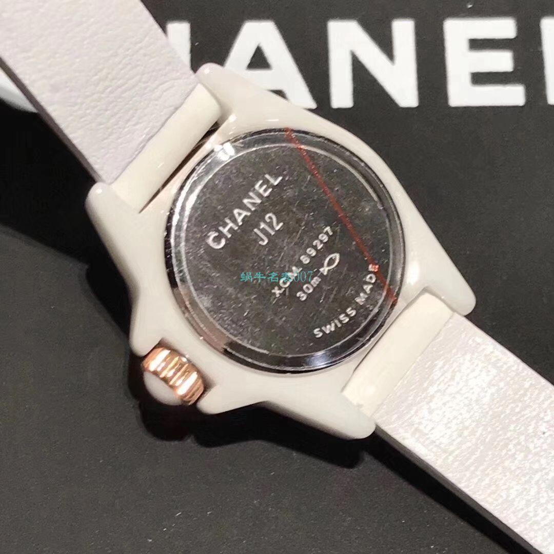 BV厂香奈儿J12系列1比1精仿女士手表H4663,H4664腕表 / XB063