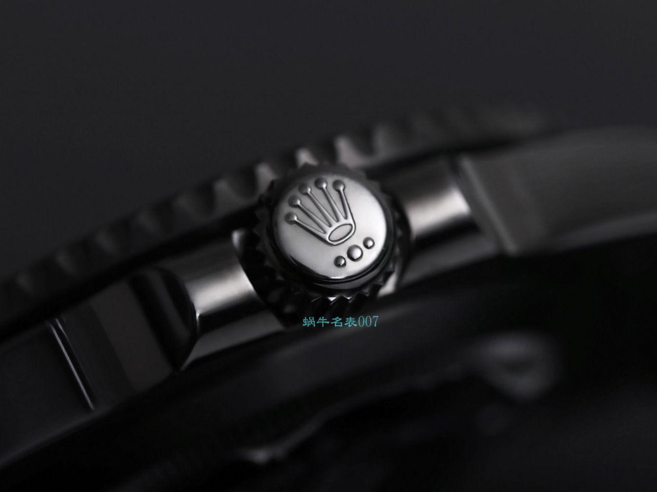 V9厂劳力士ROLEX水鬼BLAKEN SUBMARINER DATE 116610LV同款曜黑改装版 / R670