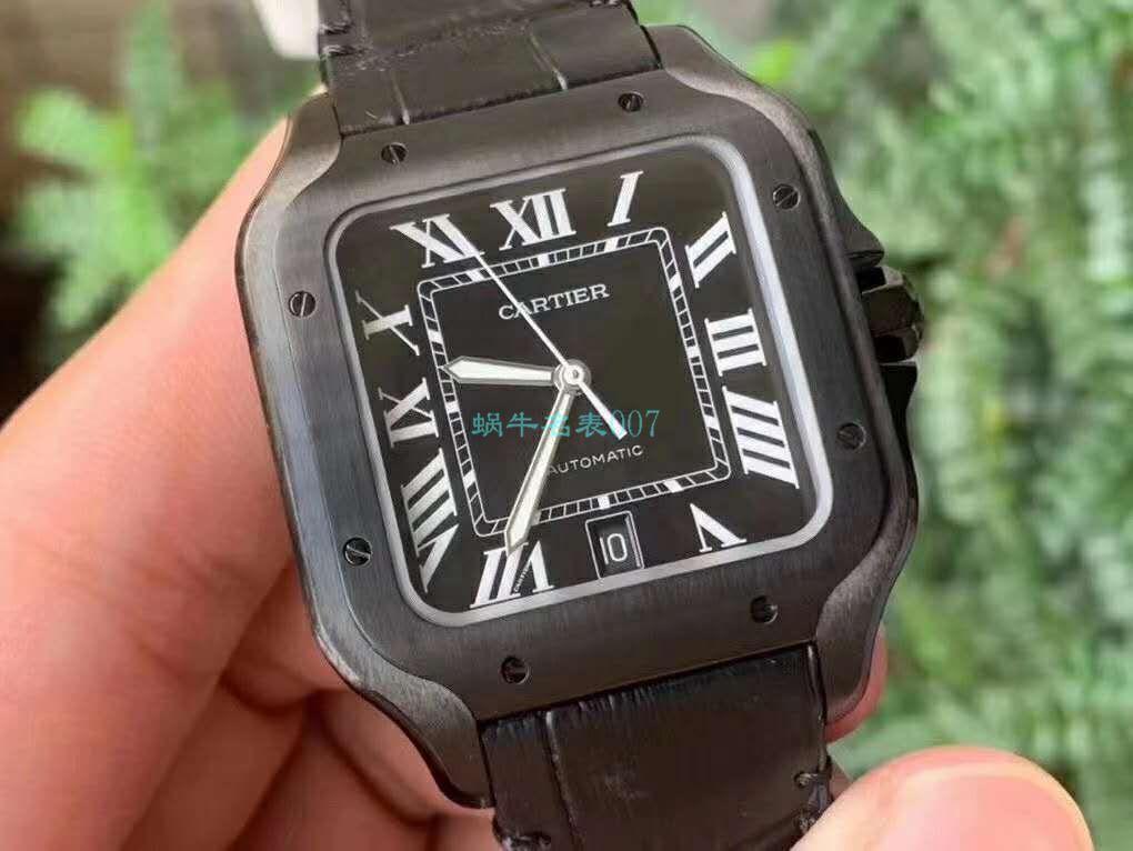 V6厂卡地亚山度士WSSA0039二代黑武士顶级高仿手表 / K311