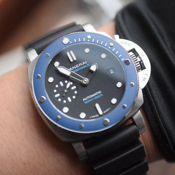 VS厂沛纳海SUBMERSIBLE小蓝鬼PAM01209 1比1高仿手表价格报价