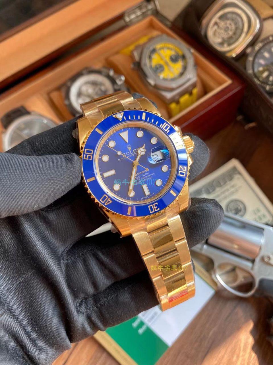 VS厂劳力士潜航者全金黑水鬼1比1复刻手表116618LN-97208手表 / R738