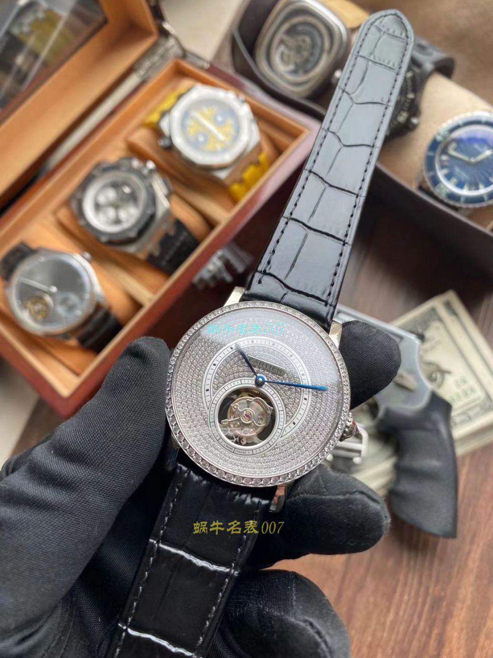 BBR厂卡地亚高级制表陀飞轮1比1复刻手表HPI00592、HPI00593腕表 / K332