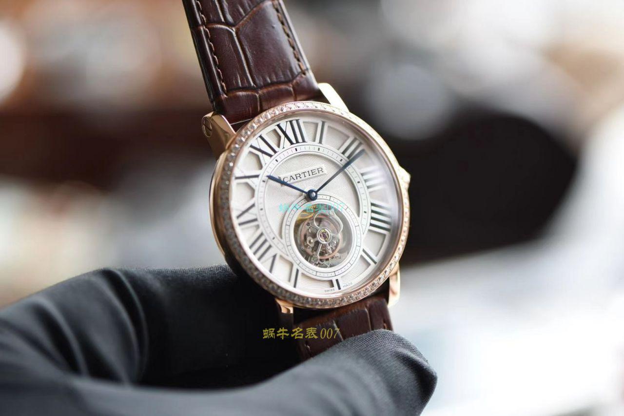 BBR厂卡地亚高级制表陀飞轮1比1复刻手表HPI00592腕表 / K333