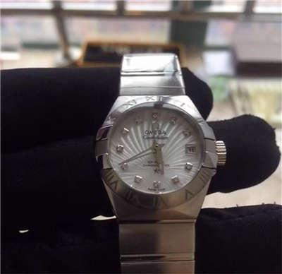 【HBBV6厂1:1超A高仿手表】欧米茄星座系列123.10.27.20.55.001女士腕表