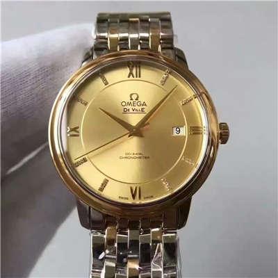 【MK厂一比一复刻手表】欧米茄碟飞系列典雅系列424.20.37.20.58.001男士机械手表价格报价