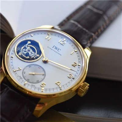 【YL厂一比一超A高仿手表】顶级万国葡萄牙9位陀飞轮(土豪金-黄金版本)价格报价