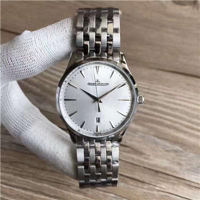 【台湾厂1:1高仿手表】积家大型超薄日历大师系列腕表 Q1288420腕表