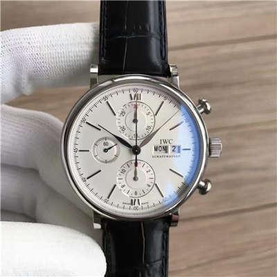 【MK厂一比一超A高仿手表】万国IWC 柏涛菲诺计时腕表系列 IW391001腕表价格报价