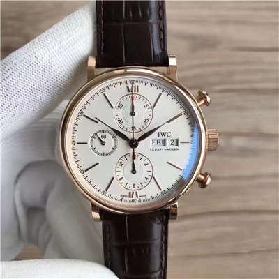 【MK厂超A复刻手表】万国IWC 柏涛菲诺系列IW391020 正装男士腕表价格报价