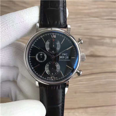 【MK厂一比一超A高仿手表】万国CHRONOGRAPH柏涛菲诺计时腕表系列 IW391008 腕表价格报价