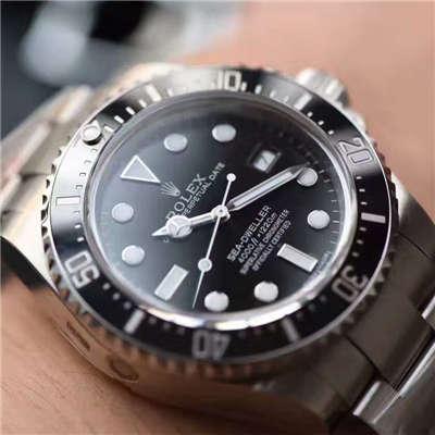 【N厂一比一超A高仿手表】最高版本劳力士恒动海使型小鬼王116660-98210 腕表价格报价