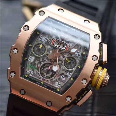 【RM厂一比一超A精仿手表】理查德·米勒男士系列RM11-03男士腕表