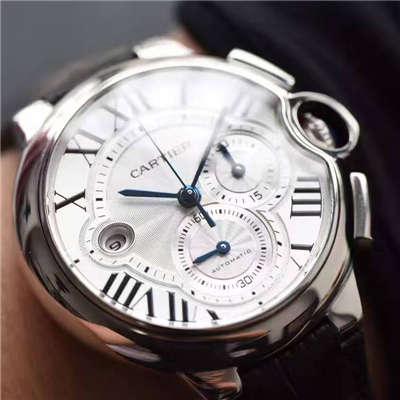 【独家视频测评OF厂最新款正品开模复刻手表】卡地亚蓝气球系列W6920078腕表/W6920052腕表价格报价