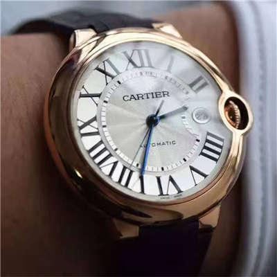 【独家视频测评V6厂一比一超A高仿手表】卡地亚大号蓝气球42毫米W6900651玫瑰金腕表