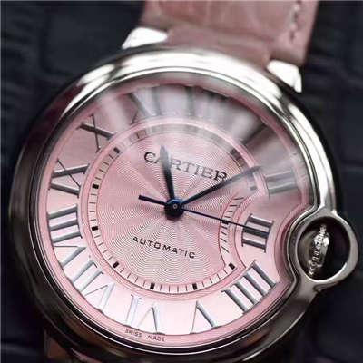 【HBBV6厂1:1顶级复刻手表】卡地亚36毫米大号WSBB0007、33毫米中号蓝气球WSBB0002女士腕表