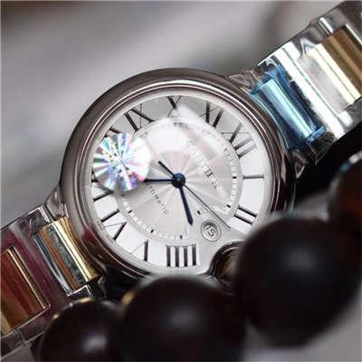 【HBBV6厂一比一复刻手表】卡地亚蓝气球系列《男款42MM包真18K黄金特别定制版》W69009Z3腕表