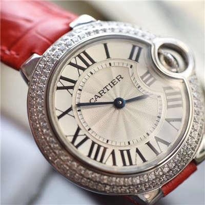 【HBBV6厂一比一超A精仿手表】卡地亚蓝气球系列WE900351女士小号33毫米石英腕表