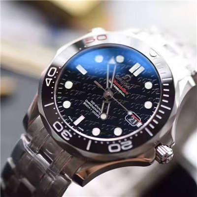 【独家视频测评一比一超A高仿手表】欧米茄海马300M系列占士邦007特别版212.30.36.20.51.001腕表