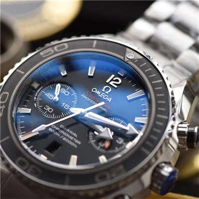 【KW厂一比一超A高仿手表】欧米茄海洋宇宙600M计时款232.30.46.51.01.001腕表价格报价