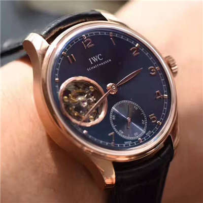 【独家视频测评YL厂1:1顶级复刻手表】万国葡萄牙系列IW546305真陀飞轮腕表价格报价