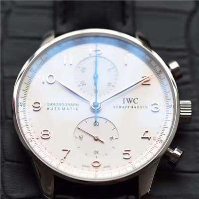 【独家视频测评】【YL厂V7版本1:1高仿手表】万国葡萄牙计时系列IW371401腕表(葡计玫瑰金针)价格报价