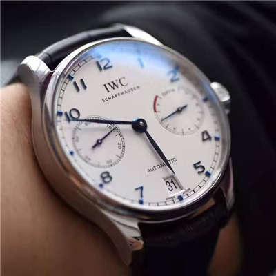 【独家视频测评】【ZF一比一超A高仿手表】万国葡萄牙计时系列IW500705腕表(万国七日链)价格报价
