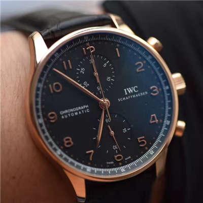 【YL厂V7版本一比一超A高仿手表】万国IWC葡萄牙计时系列IW371415腕表
