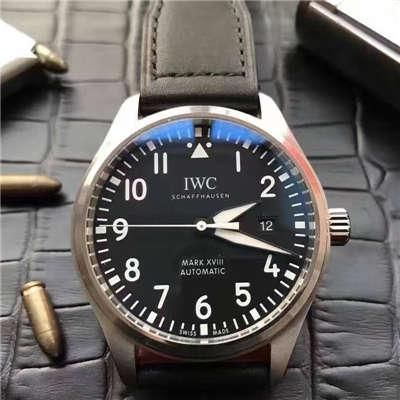 【独家视频测评MK厂超A精仿手表】万国飞行员马克十八飞行员腕表系列 IW327001腕表价格报价