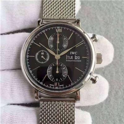 【MK一比一超A精仿手表】万国柏涛菲诺计时腕表系列 IW391010 男士手表