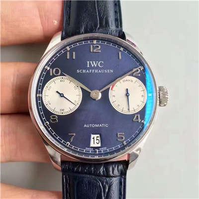 【ZF厂一比一精仿手表】万国葡萄牙劳伦斯限量版系列《万国七日链》IW500112腕表价格报价