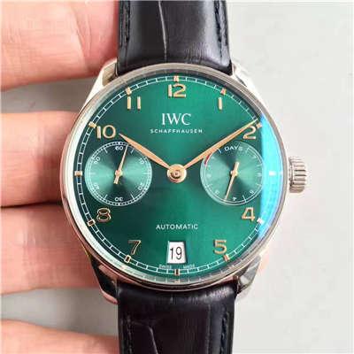 【ZF厂一比一高仿手表】 万国葡萄牙系列七日链IW500112 劳伦斯限量版腕表价格报价