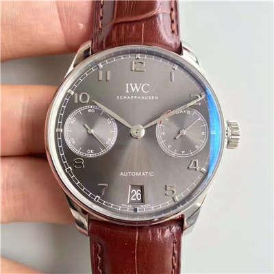 【ZF厂顶级复刻精仿手表】万国葡萄牙系列《万国七日链》IW500702腕表价格报价