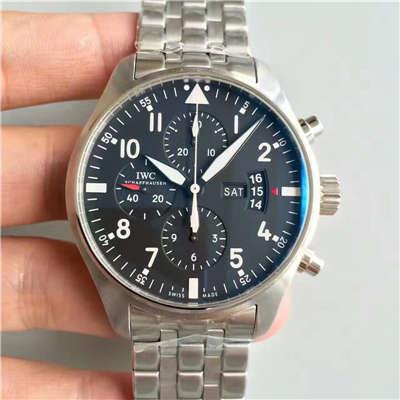 【ZF厂1:1超A精仿手表】万国飞行员CHRONOGRAPH计时腕表系列 IW377704腕表价格报价