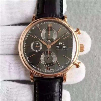 【MK厂一比一精仿手表】万国柏涛菲诺系列IW391021 多功能机械计时腕表