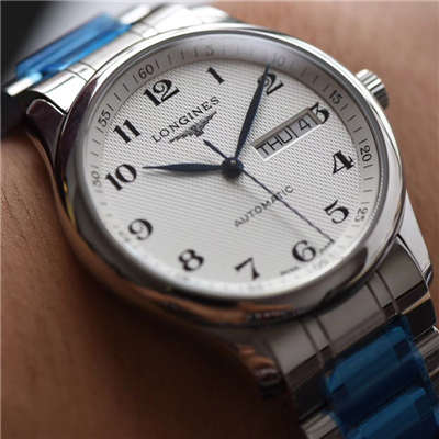 【视频评测台湾KZ出品顶级厂1:1复刻高仿手表】浪琴名匠双历系列L2.755.4.78.6腕表