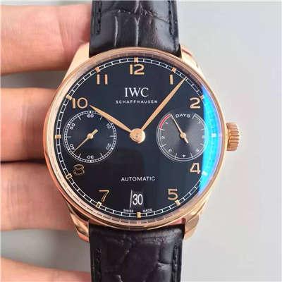 【ZF厂超A精仿1:1手表】万国葡萄牙系列《万国七日链》IW500125腕表价格报价