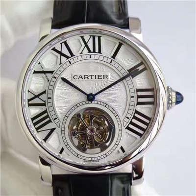 【BL厂一比一精仿手表】卡地亚ROTONDE DE CARTIER系列W1556216陀飞轮腕表价格报价