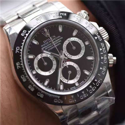 【N厂最新V7版本】劳力士宇宙计型迪通拿系列116500LN-78590黑盘机械手表价格报价