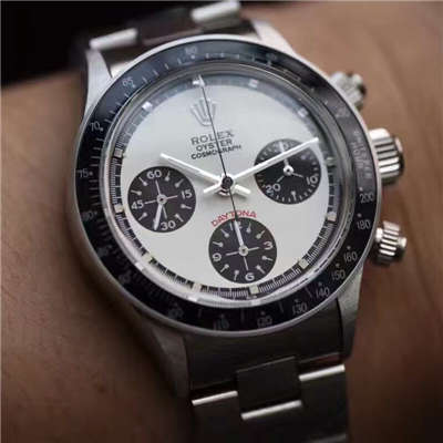 【独家视频测评一比一超A高仿手表】Rolex Paul Newman Daytona余文乐同款劳力士保罗.纽曼复古迪通拿价格报价