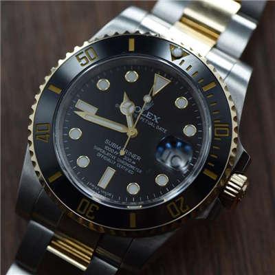 【视频解析】N厂V7版1:1复刻手表之劳力士潜航者型116612-LN-97203《18K真金版》价格报价