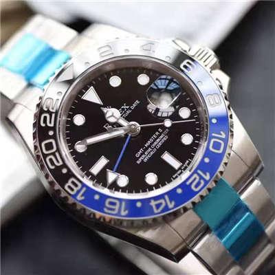 【N厂一比一复刻手表】V7版劳力士格林尼治型II系列116710BLNR-78200机械腕表价格报价